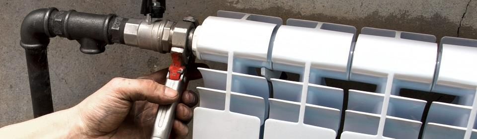 Reparatie van radiator en CV